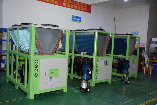 冷水机组生产车间